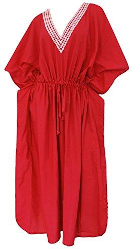 rayonne douce caftan robe maxi robe de sommeil couvrir jusqu'à kimono femmes beachwear bikini dames maillots de bain boho maillot de bain robe v chemisier col chemise cardigan casual vintage rouge