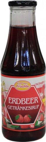 Eystruper fruit strawberry beverage syrup 500ml