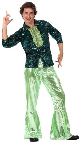 Disfraz disco adulto verde: Amazon.es: Juguetes y juegos