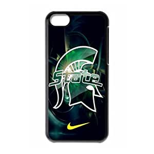Custom Design ZH-11 Sports NCAA Michigan State Spartans Black Print Hard Shell For SamSung Galaxy S5 Phone Case Cover