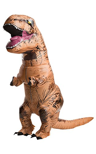 Adult Trex Costumes (Rubie's Costume Co Jurassic World T-Rex Inflatable Costume, Multi, One Size)