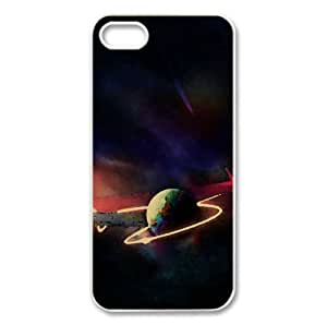 Creative Universe Watercolor style Cover iPhone 5 and 5S Case