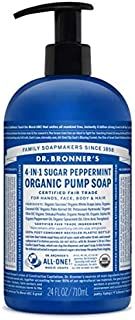 product image for Dr. Bronners 24 Ounce Organic Shikakai Soap - Spearmint Peppermint