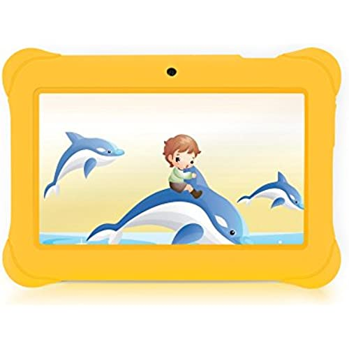 iRULU BabyPad Y1 7 Inch Android Tablet for Kids, with Games, Dual Cameras, Wi-Fi, Google Play Store, Children World, 1024*600 HD Coupons
