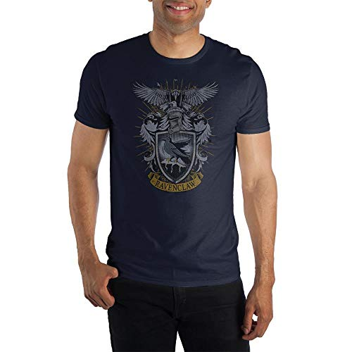 Harry Potter House Ravenclaw Coat of Arms Short-Sleeve T-Shirt-Large