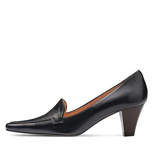 azul vestir mujer Piel Evita Shoes Zapatos de para de Azul xznn6CPwH