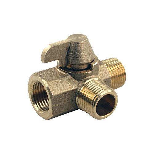 3 Way Bypass Valve - JR Products 62245 3-Way Brass Diverter Valve - 1/2