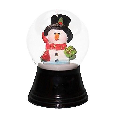 Alexander Taron Importer PR1280 Perzy Decorative Snowglobe with Small Snowman & Scarf, 2.75'' x 1.5'' x 1.5'' by Alexander Taron Importer
