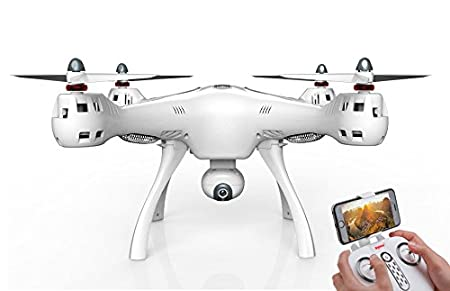 Syma X8 Pro - Drone con Camara HD FPV Gigante con GPS y Control ...