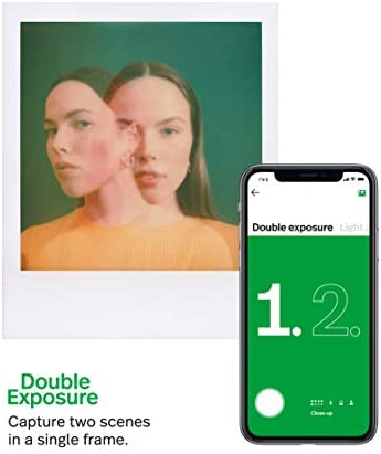 Polaroid Originals OneStep+ Black (9010), Bluetooth Connected Instant Film Camera 41Op9ukB5tL