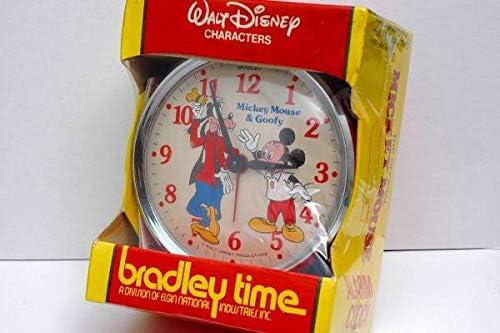 ● BRADLEY ● ミッキーマウス & グーフィー目覚まし時計