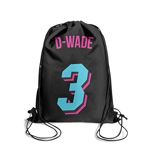 Special String Drawstring Backpack Gym Printted Retro Personalized Adjustable