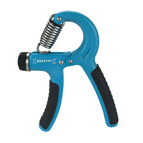 UPC 701599500727, Sanberd Grip Strengthener Best Adjustable Hand Exerciser -Resistance Range 22 to 88 Lbs