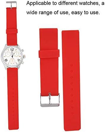 時計バンド、4個入り20mm時計ストラップ取り付けが簡単ユニセックスの学生用時計バンド交換用アクセサリー時計職人用時計修理