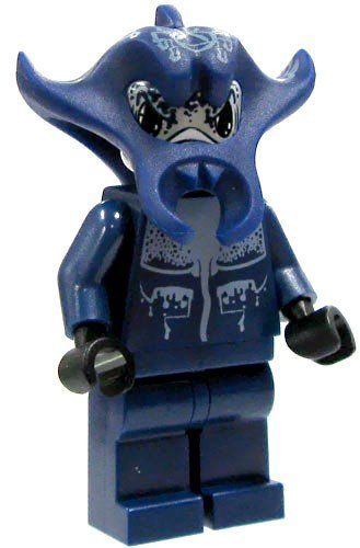 LEGO Minifigure - Atlantis - MANTA WARRIOR