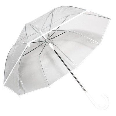 Auto-Open Clear Umbrella
