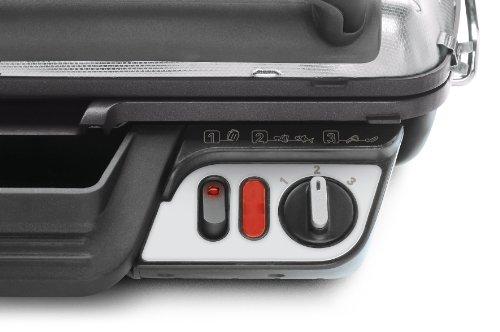 Rowenta GR3060 Ultra Compact Comfort - Bistecchiera con 3 Posizioni di Cottura, Facile da Pulire, Potenza 2000 W, Nero… 5