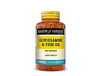 Mason Natural, Glucosamine & Fish Oil, 90 Softgels by Mason Natural