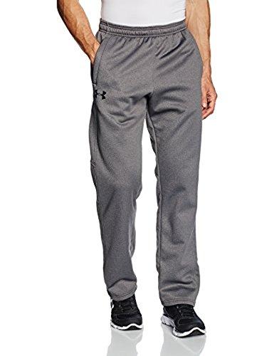 UA M's Storm Armour Fleece Pant Carbon Heather/Carbon Heather/BLK 3XL & Visor