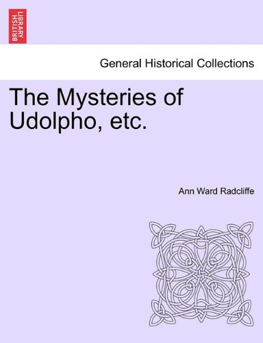 The Mysteries Of Udolpho Pdf