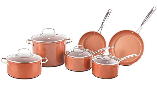 Nuwave Duralon Ceramic Non-Stick 10 pc. Cookware Set Review