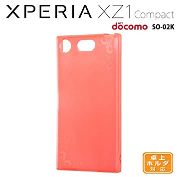 b042baa062 Amazon | レイ・アウト Xperia XZ1 Compact(SO-02K)用 TPUソフトケース ...