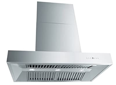 ZLINE 42 in. 1200 CFM Professional Wall Mount Range Hood in Stainless Steel (KECOM-42)