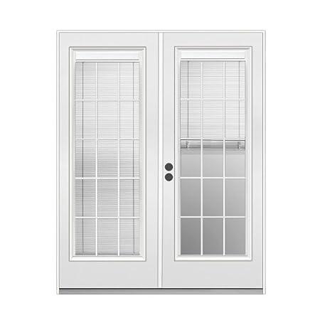 Reliabilt 6 Blinds Between The Glass Steel French Patio Door 289766