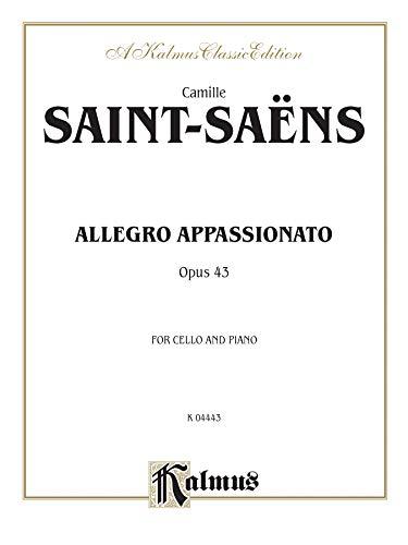 - Allegro Appassionato, Op. 43 (Kalmus Edition)