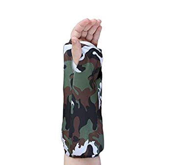 My Recovers Arm Cast Cover Protector, Fashion Cast Cover in Camouflage for Short Arm Cast or Medical Wrist Brace, Made in USA, Orthopedic Products Accessories (Large)