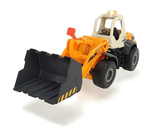Dickie Toys Light and Sound Construction Front Loader Vehicle