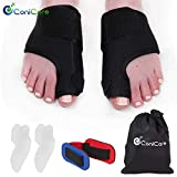 Orthopedic Bunion Corrector 6 Piece Splints Big Toe Straightener Separator Kit - Hallux Valgus Correctors for Men and Women Get Pain Relief Fast with Our Brace & Pads All Day & Night Joint Care Use