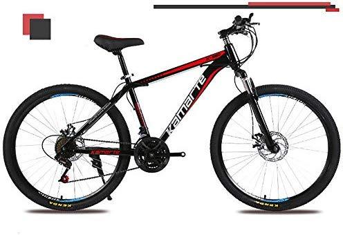 Unisexo 26 Pulgadas Bicicleta de montaña de suspensión Acero de ...
