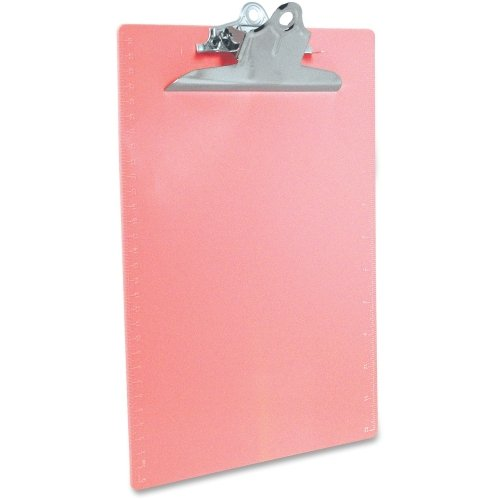Saunders 21800 Recycled Plastic Clipboard with Ruler Edge 1