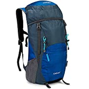 G4Free 35L/40L Rucksack Foldable Hiking Backpack Ultra Lightweight Tear Water Resistant Travel Camping Trekking Daypack…