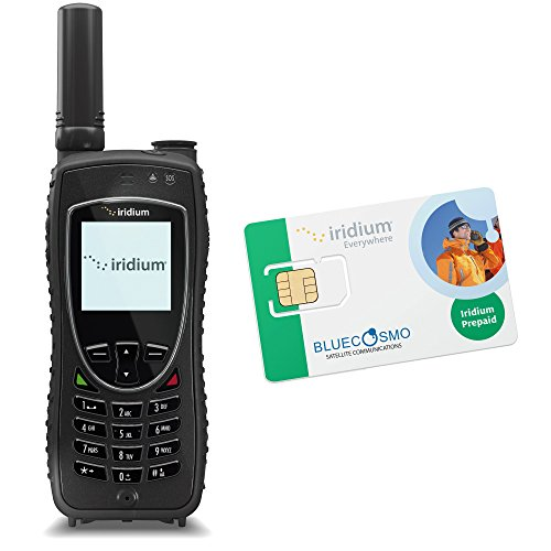 BlueCosmo Iridium Extreme Satellite Phone Kit & Prepaid SIM Card by BlueCosmo