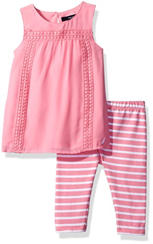 Girls Pink Capri Pants - 2
