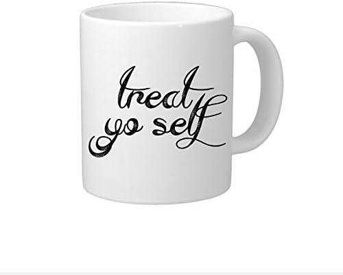 Treat Yo Self taza de café regalos Hostess regalo para amigo ...
