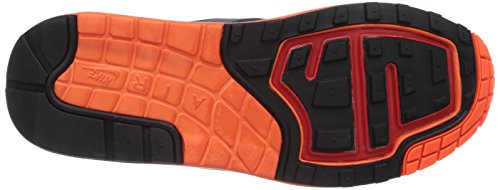 Nike Air Max Lunar1 654469 Herren Low-Top Sneaker Grau (Wolf Grey/Wlf Grey-Mid Nvy-Blk)