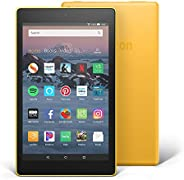 "Certified Refurbished Fire HD 8 Tablet (8"" HD Display, 32 GB) - Yellow (Previous Generation -"