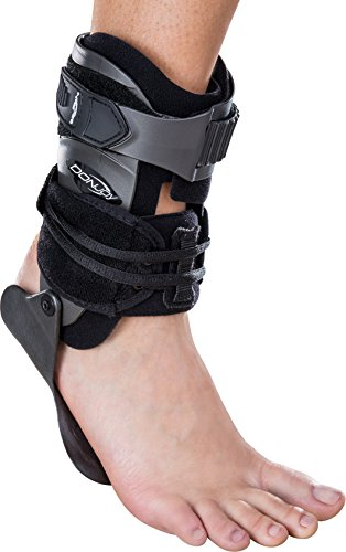 DonJoy Velocity MS (Moderate Support) Ankle Brace: Standard Calf, Right Foot, Medium
