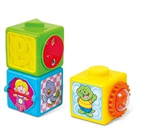 Playgo - Cubos apilables de actividades (3 unidades)
