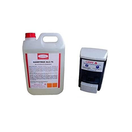 Mold N Pack - Dispensador Gel Alcohol 900Cc. S30Tbl: Amazon.es: Bricolaje y herramientas