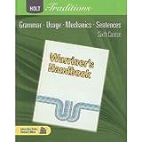 Holt Traditions Warriner's Handbook, John E Warriner, 0030997070