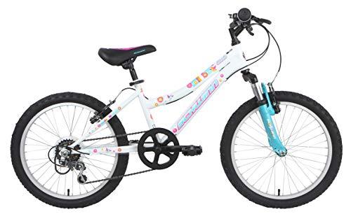 Schwinn Girls' Shade Kids Bike, White, 20'