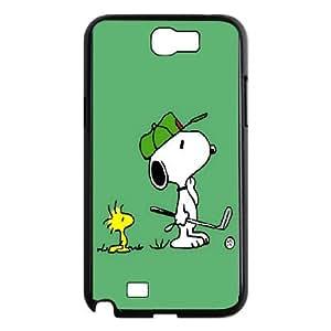 DIY Phone Cover Custom snoopy green For Samsung Galaxy Note 2 N7100 F211542421