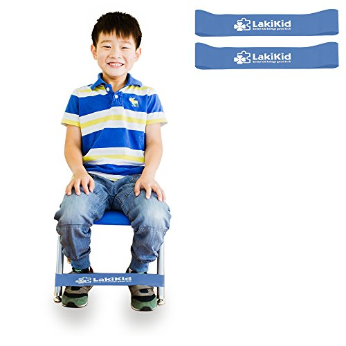 ADHD Chair Fidget Bands for Kids with Fidgety Feet | Durable Hand-Free Sensory Foot Fidget | Affordable Alternative to Bouncy Bands for School Sensory Flexible Seating Classroom
