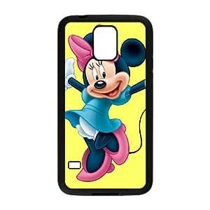 Samsung Galaxy S5 Cell Phone Case Black Minnie Mouse 019 KYS1116684KSL