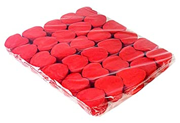 Ohfx Confetti Corazones Color Rojo Co Rj Amazones Juguetes Y