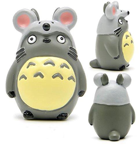 [1pcs DIY Studio Ghibli Hayao Miyazaki Anime My Neighbor Totoro Zodiac PVC Action Figure Toys Collection Model Toy Gifts for Kids] (Obi Wan Kenobi Baby Costumes)